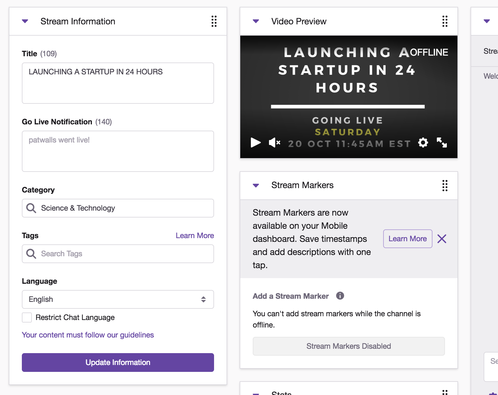 Recommended Twitch Streaming Setup Guide - 24hrstartup com